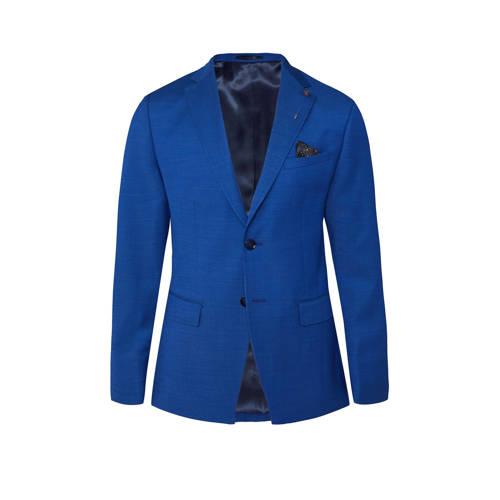 WE Fashion slim fit colbert intense blue