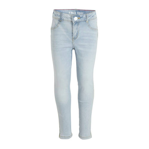 WE Fashion Blue Ridge super skinny jeans met zijst