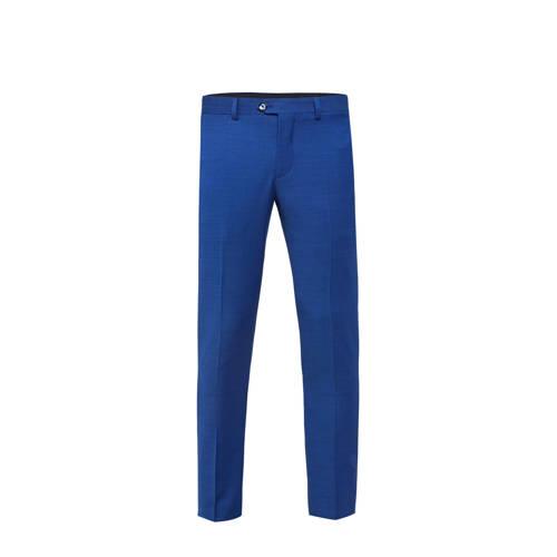 WE Fashion slim fit pantalon intense blue