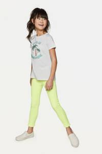 WE Fashion Blue Ridge super skinny broek neon geel, Neon geel