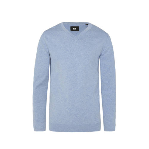 WE Fashion Fundamental trui pale blue melange