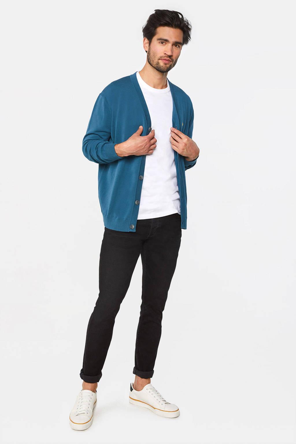 WE Fashion vest petrol blue, Petrol Blue