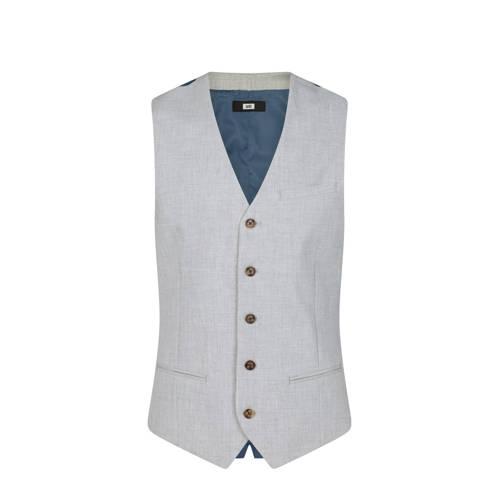 WE Fashion gilet light grey melange