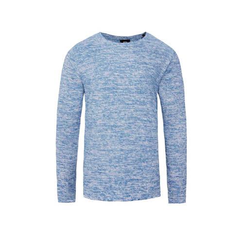 WE Fashion gem??leerde trui blauw