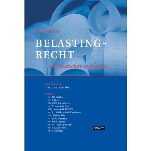 Belastingrecht Bachelors Masters 2019-2020 Theorieboek. G.A.C. Aarts, Hardcover