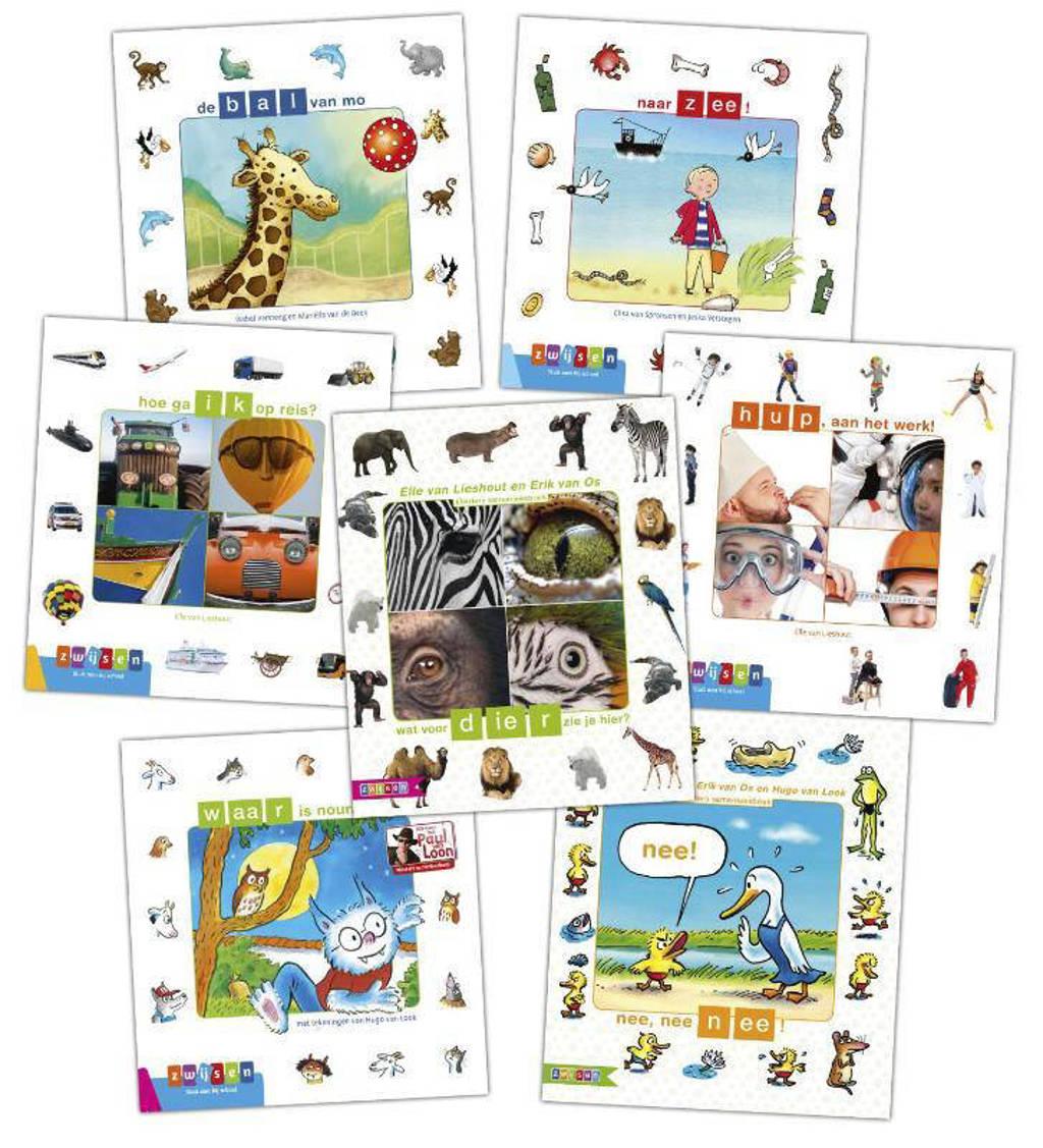 Kleuters samenleesboek: Pakket 2 Kleuters samenleesboeken (7 titels)