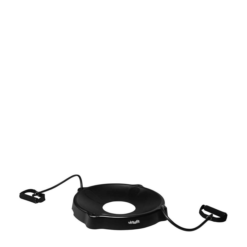 Virtufit  Gymbal Balschaal voor Fitnessbal - Met weerstandskabels - Zwart