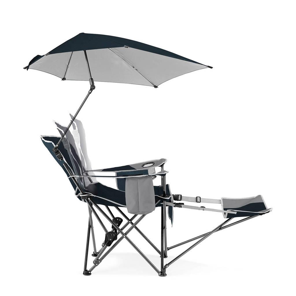 Strandstoel Met Parasol.Sport Brella Verstelbare Campingstoel Strandstoel Met