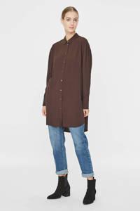 VERO MODA geweven blouse bruin, Bruin