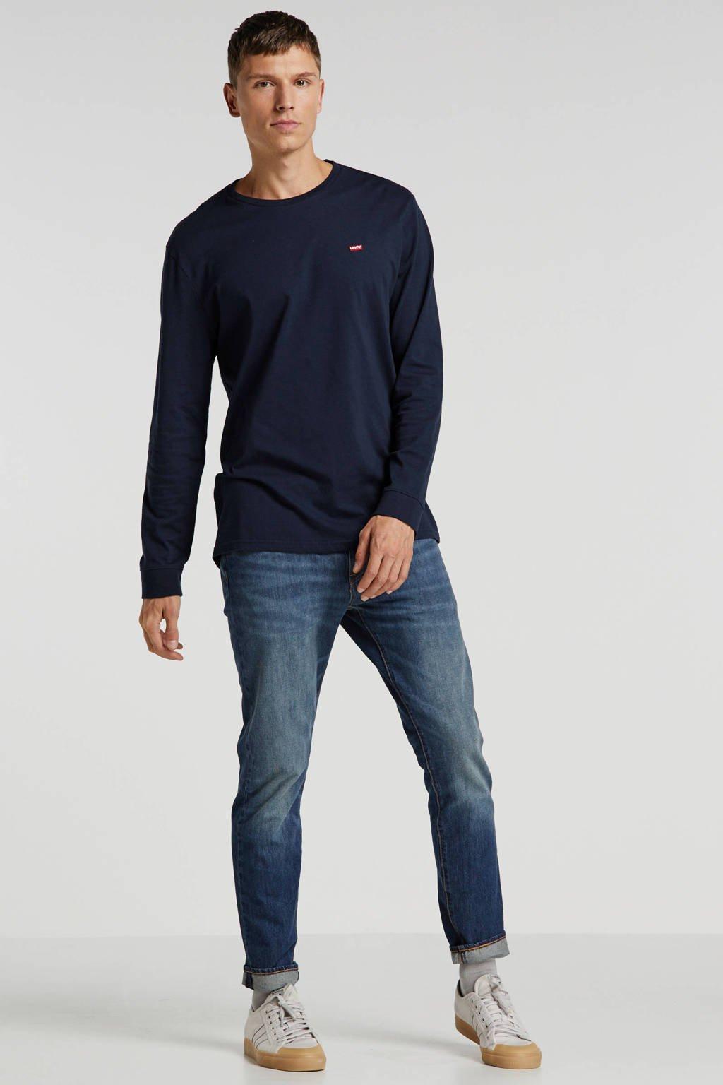 Levi's T-shirt met logo donkerblauw, Donkerblauw