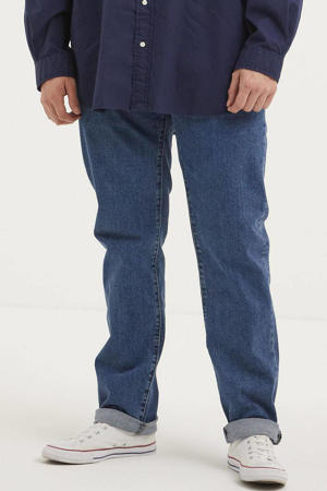 514 straight fit jeans Plus Size stonewash stretch