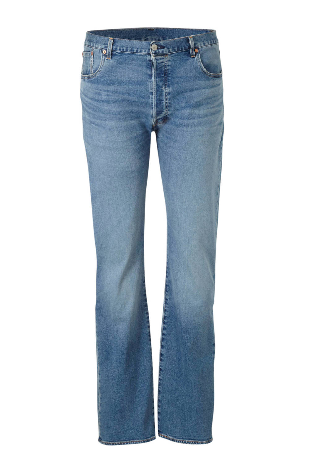 Levi's Big and Tall straight fit jeans 501, IRONWOOD OVERT