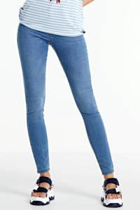 JACQUELINE DE YONG high waist skinny jeans JDYNIKKI light blue denim, Blauw