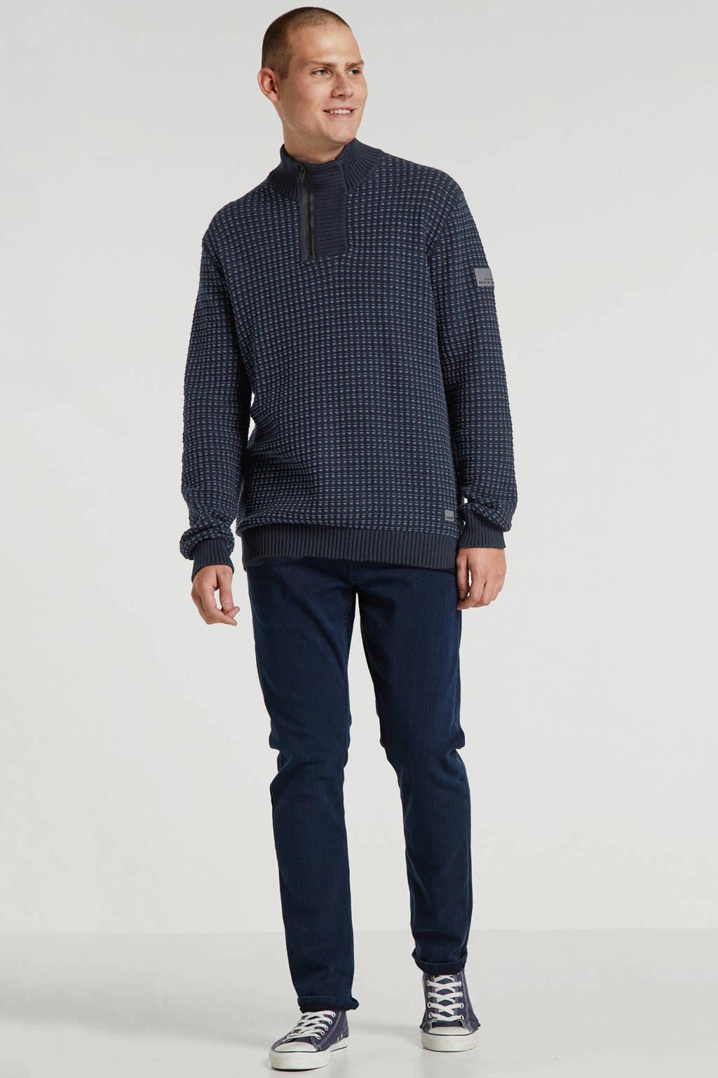 Tom Tailor slim fit jeans dark stone blue black, Dark stone blue black