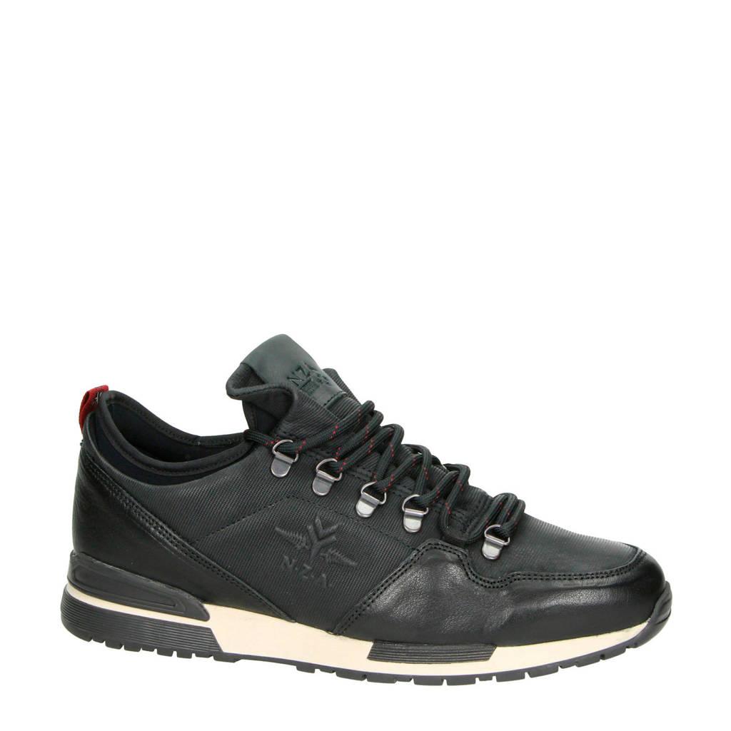 New Zealand Auckland   nubuck sneakers, Zwart