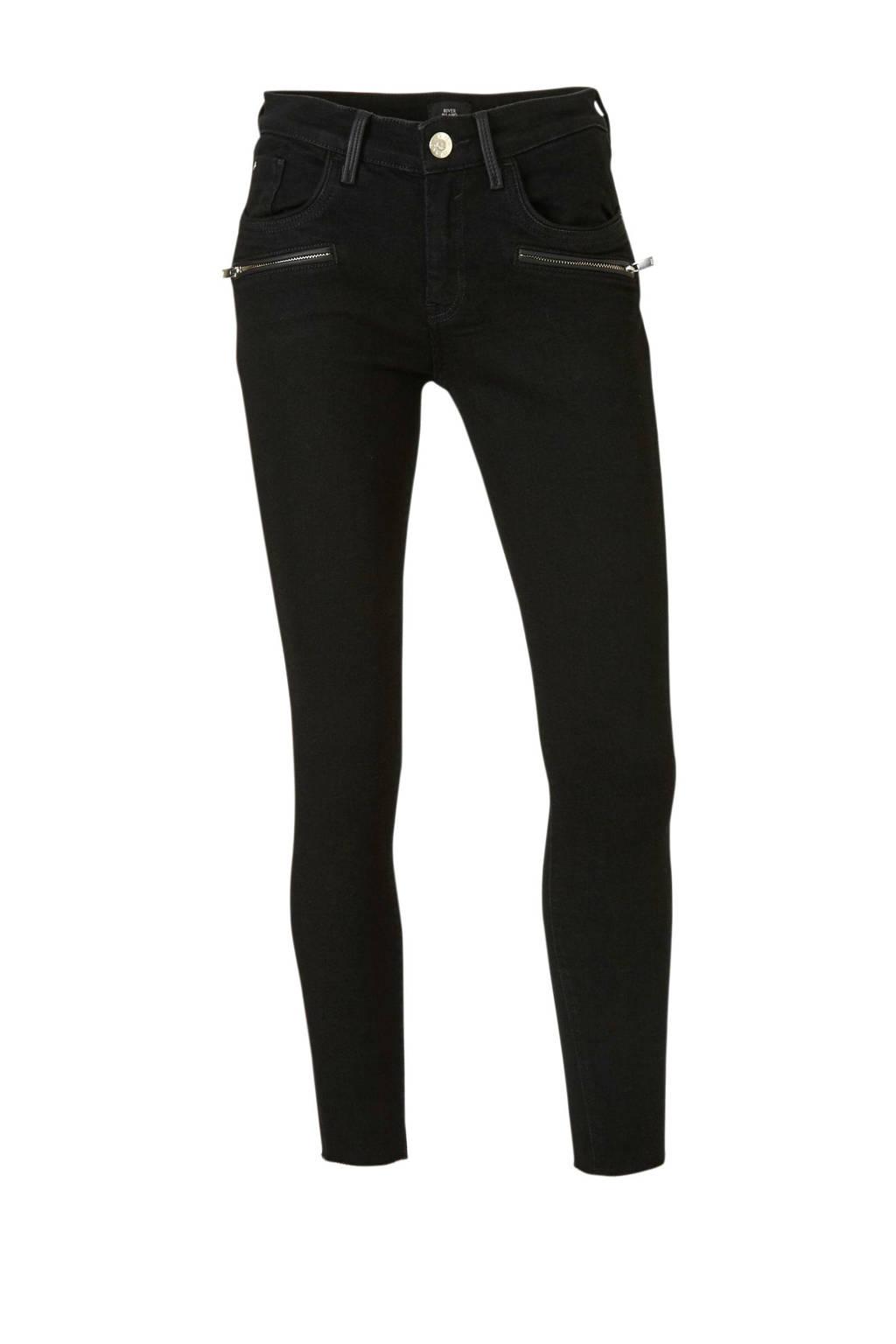 River Island Amelie skinny jeans zwart, Zwart