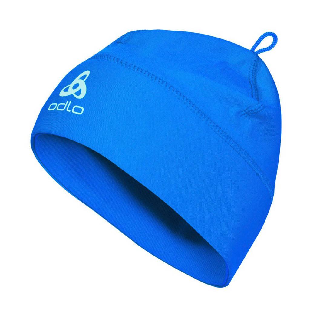 Odlo sportmuts blauw, Blauw