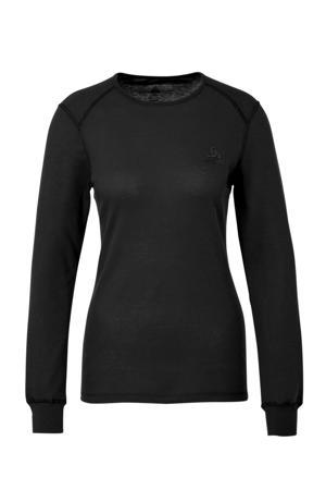 thermoshirt (set van 2) zwart/roze