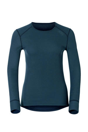 thermo T-shirt blauw