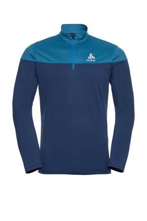 hardloopshirt blauw/donkerblauw