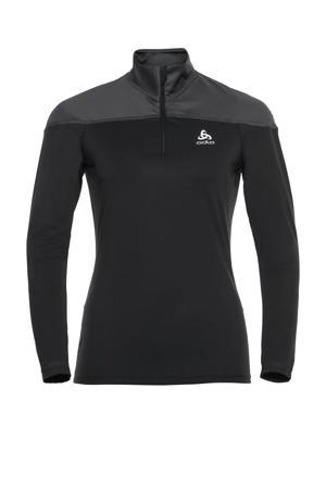hardloopshirt zwart/grijs