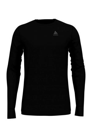 wollen thermoshirt zwart