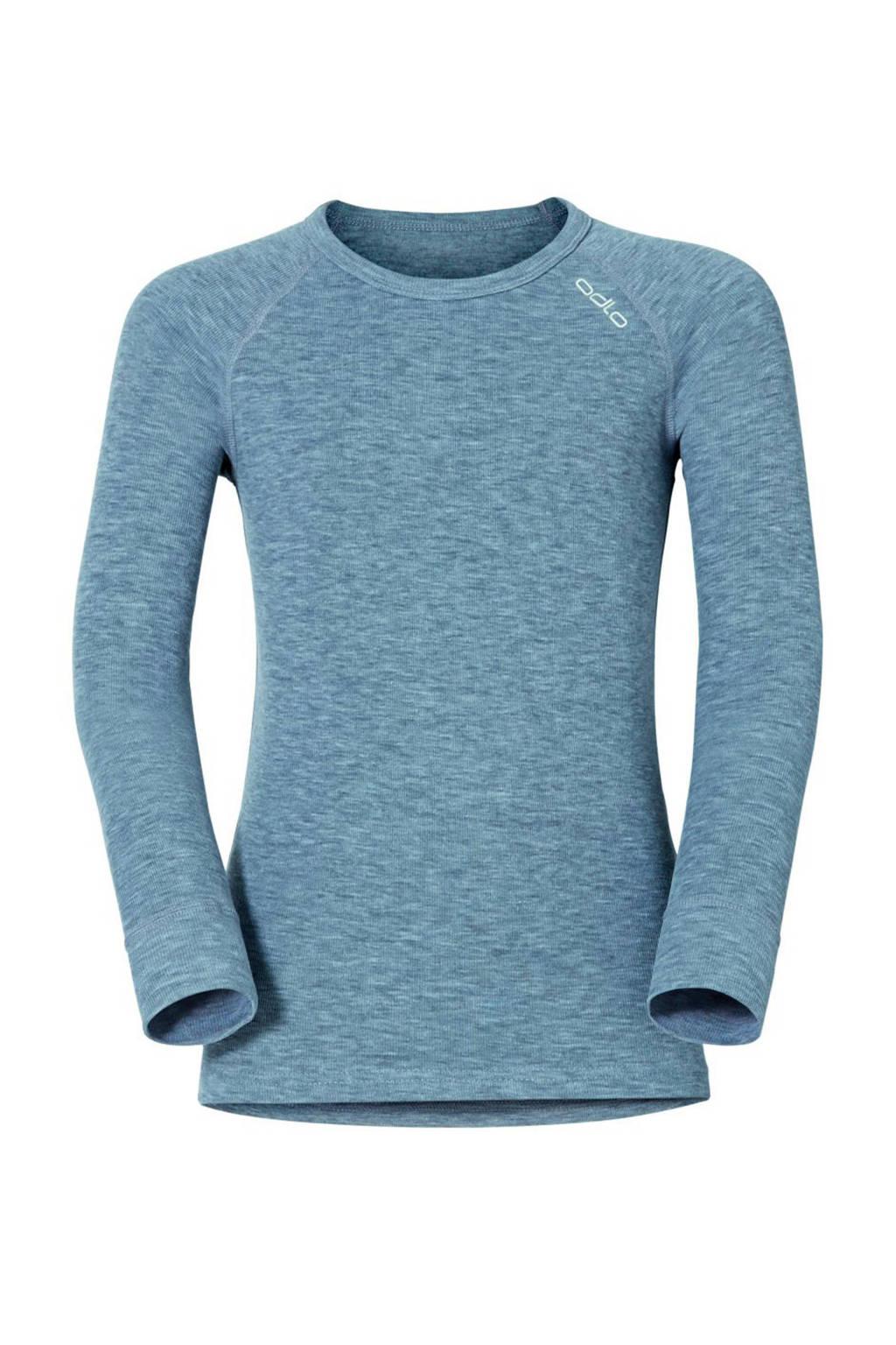 Odlo thermo sport T-shirt grijs melange, Grijs melange