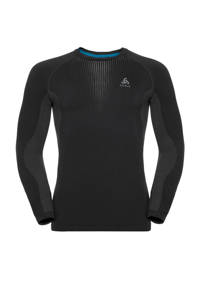 Odlo thermo T-shirt zwart, Zwart