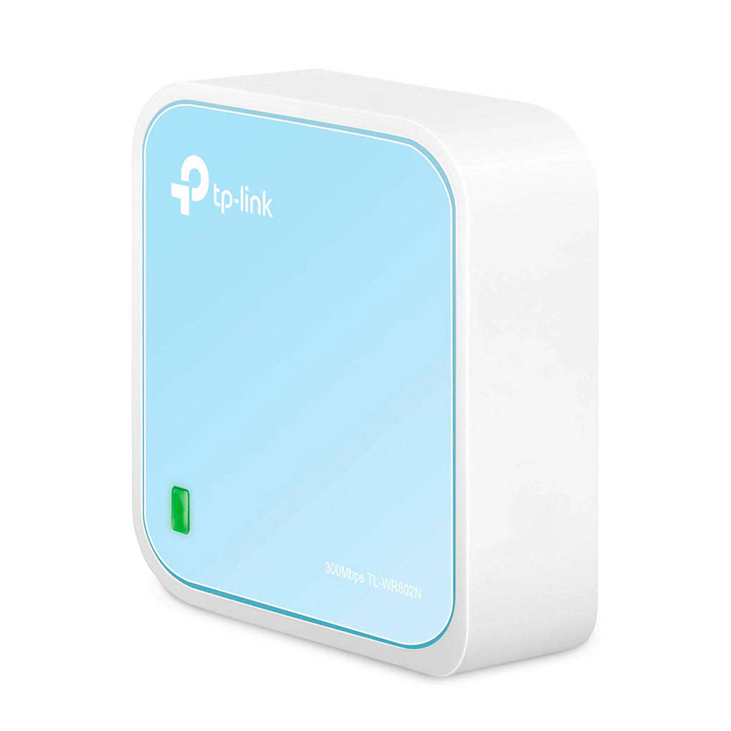 TP-Link  draadloze router, Blauw, wit