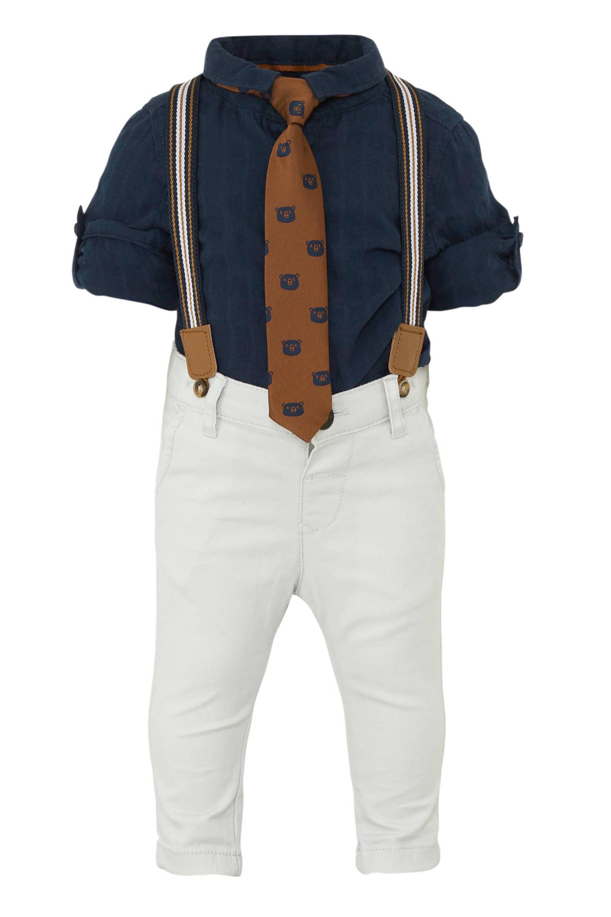 Onwijs C&A Baby Club overhemd + broek + stropdas   wehkamp HO-93