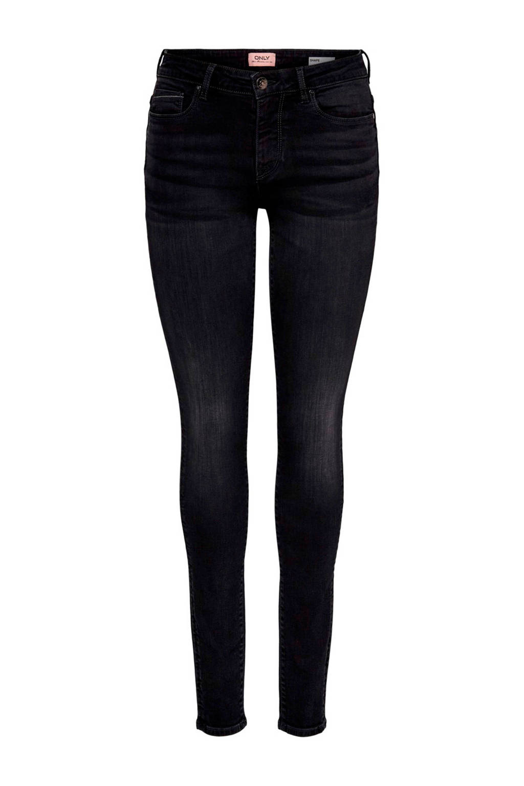 ONLY push-up skinny jeans Shape zwart, Zwart