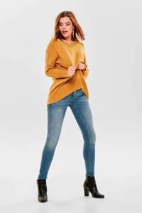 ONLY fijngebreide trui geel, Geel