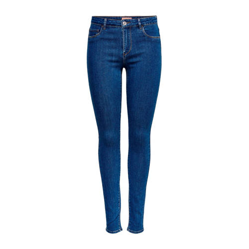 ONLY skinny jeans Rain Reg donkerblauw