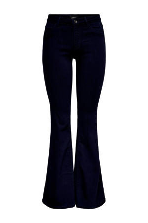 flared jeans donkerblauw
