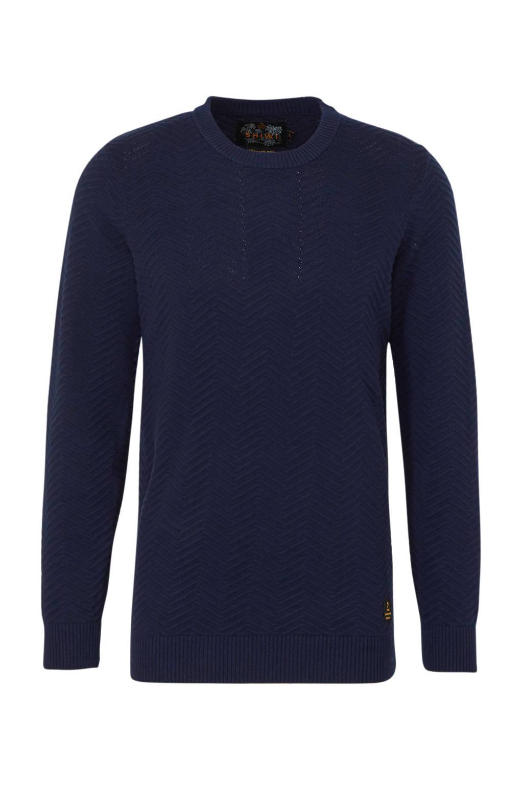 Shiwi trui donkerblauw, Donkerblauw