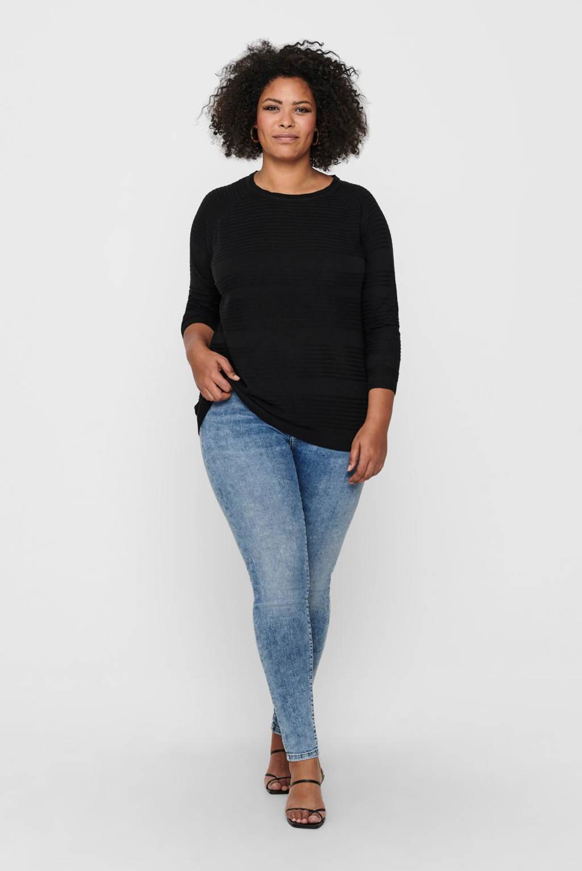 ONLY CARMAKOMA trui zwart, Zwart