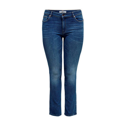 ONLY CARMAKOMA slim fit jeans blauw
