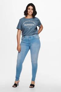 ONLY CARMAKOMA skinny jeans CARWILLY light blue denim, Light denim