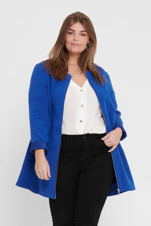 ONLY CARMAKOMA jasje blauw, Blauw