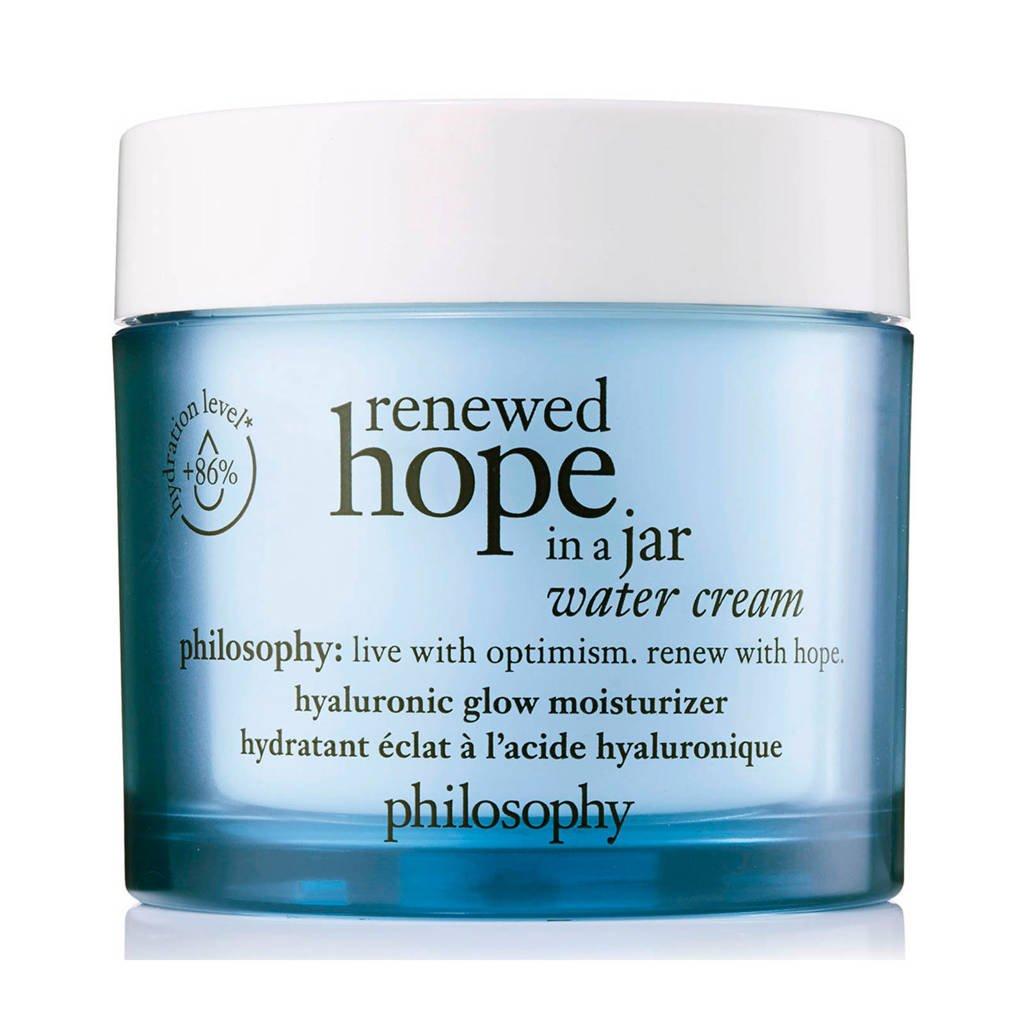 philosophy renewed hope in a jar water cream dagcrème - 60 ml