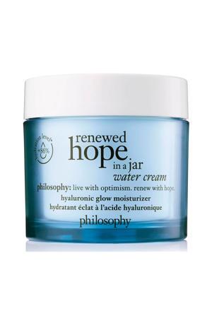 renewed hope in a jar water cream dagcrème - 60 ml
