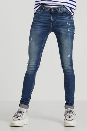 regular waist skinny jeans Rachelle blauw
