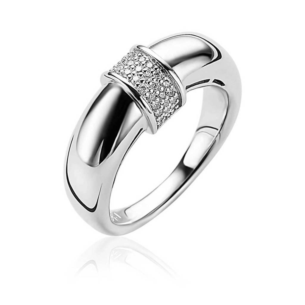 Zinzi ring ZIR1865 zilverkleurig, Zilverkleurig