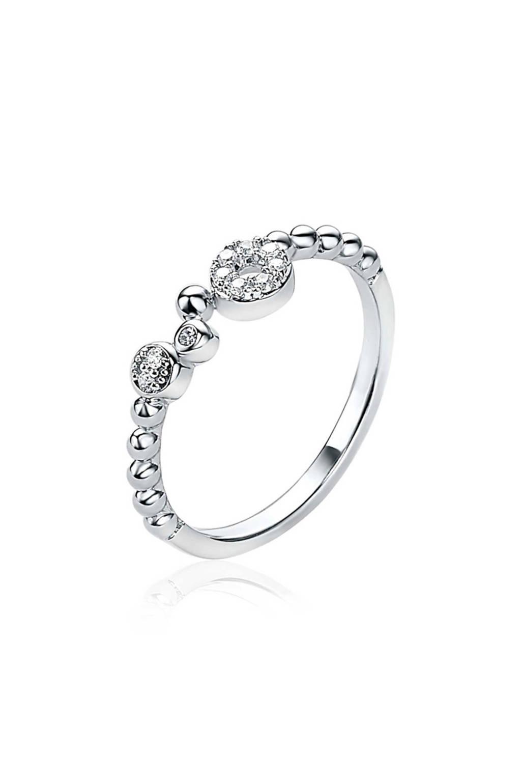 Zinzi ring ZIR1882 zilverkleurig, Zilverkleurig