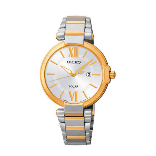 Seiko Solar horloge SUT154P1 goud/zilverkleurig