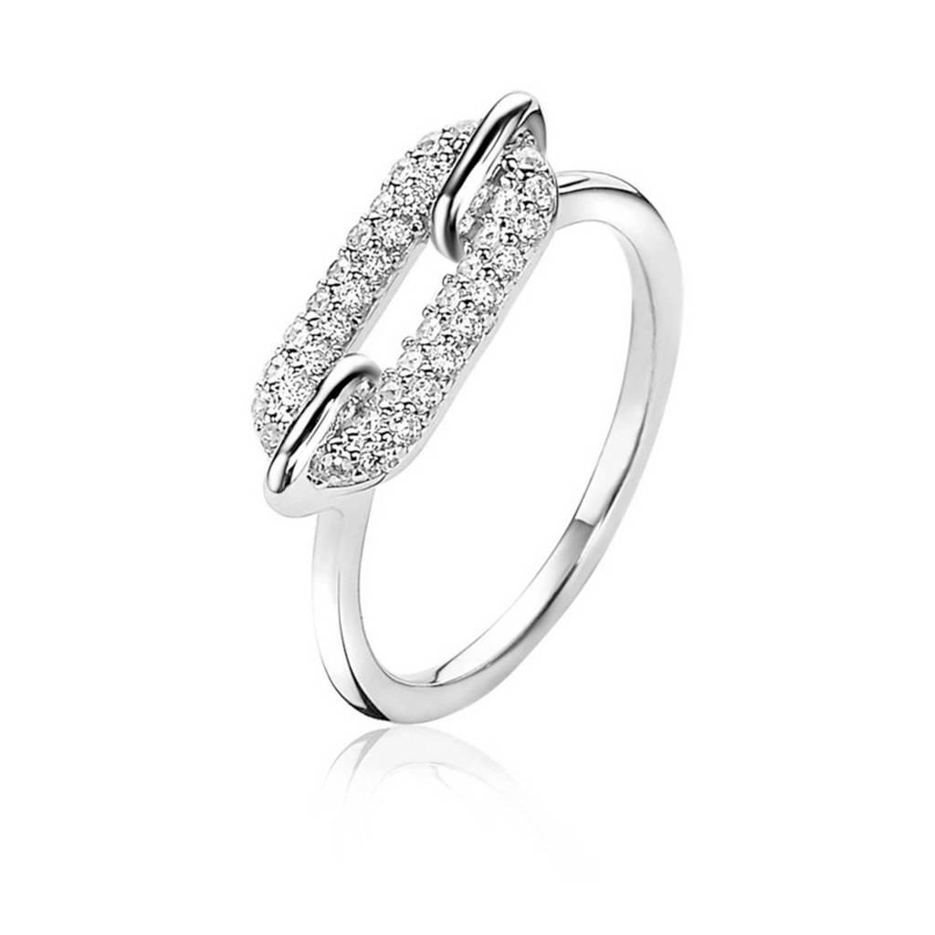 Zinzi ring ZIR1894 zilverkleurig, Zilverkleurig