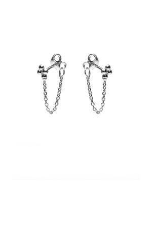 zilveren oorbellen M2120