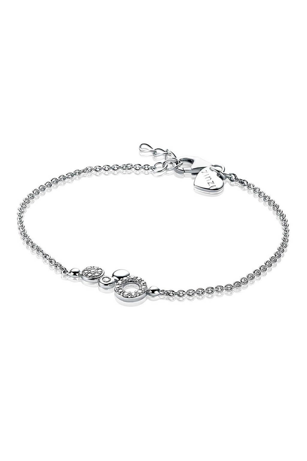 Zinzi armband ZIA1882 zilverkleurig, Zilverkleurig