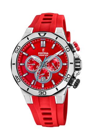 chronograaf rood