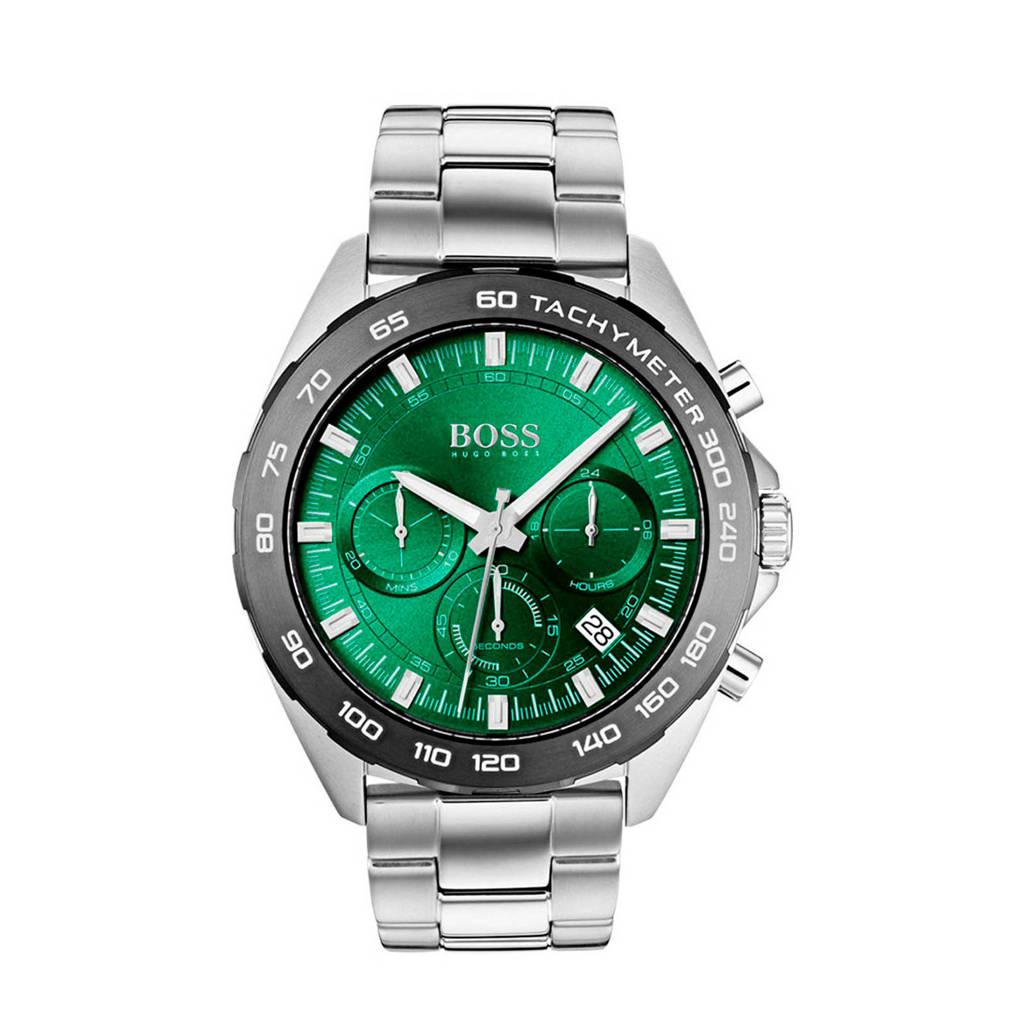 BOSS horloge HB1513682, Zilverkleurig